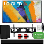 "LG OLED55GXPUA 55"" GX 4K OLED TV w/ AI ThinQ (2020 Model) with GX Soundbar Bundle"
