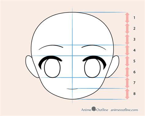 draw chibi anime character step  step animeoutline