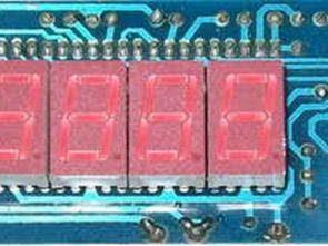 Vôn kế với ICL7107 Cung cấp đơn đối xứng