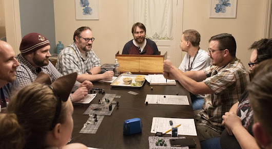 Meet Frederick's first D&D B&B, a weekend retreat for rest, relaxation, and Dungeons and Dragons