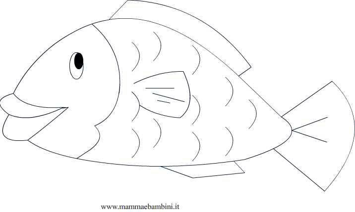 Pesce Daprile Da Colorare Mamma E Bambini