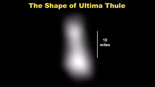 Astro-Calendar: Jan. / NASA Flies-By Ultima Thule: 1st Photo