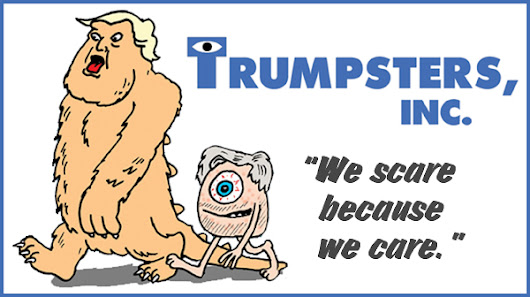 "Trump's New ""Monsters, Inc."""