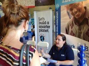 Más de 6 mil personas acuden a Feria de Empleo de CINDE en busca de trabajo. CRH