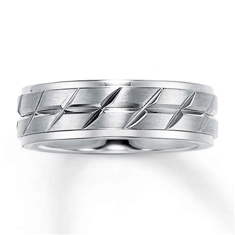 Triton Wedding Band Titanium 7mm   25227420699   Kay