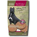 OC Raw Frozen Raw Dog Food 18lb Patties / Beef and Produce