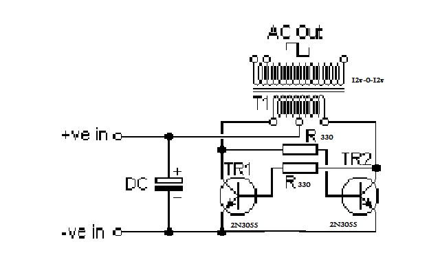 simple inverter circuit diagram pdf circuit diagram images  24V Inverter Circuit