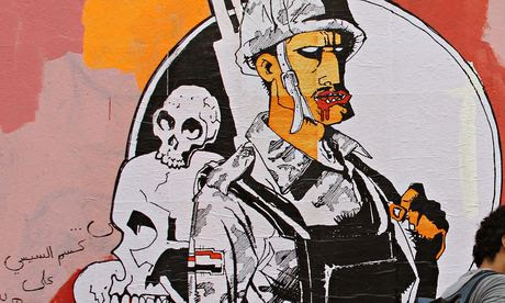 The Army Above All, by the Egyptian street artist Ganzeer