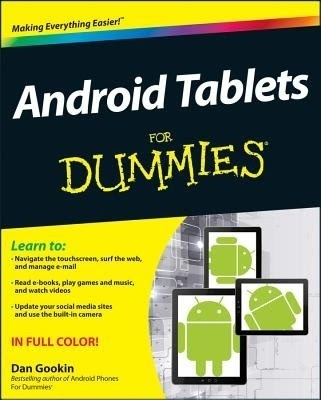 Buy Android Tablets for Dummies: Book