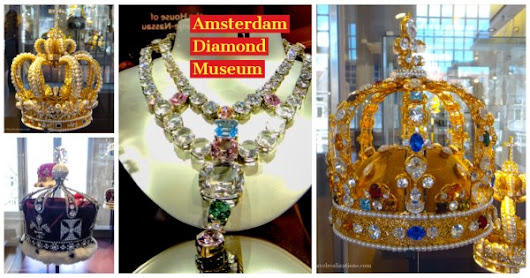 The story of Diamond in Amsterdam Diamond Museum - A photo essay!...
