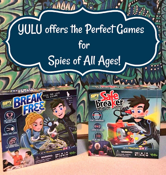 YULU Games Offer the Perfect Games for Spies In Training Plus GIVEAWAY #BreakFreeChallenge #Partner 9/10