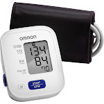 Omron 3 Series Upper Arm Blood Pressure Monitor with Cuff - Fits Standard and Large Arms