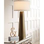 Possini Euro Karen Dark Gold Glass Table Lamp - Style # 9X296