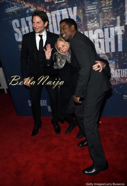 Bradley Cooper, Gloria Campano & Chris Rock