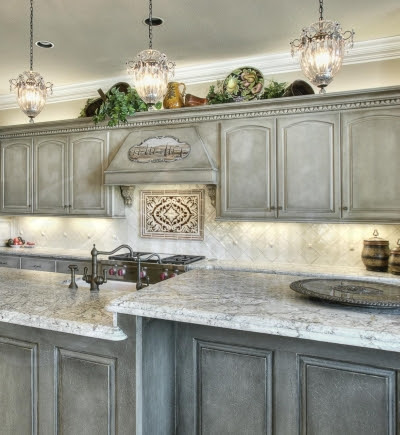 Faux Painting Kitchen Ideas: Walls, Cabinets, Floors ...