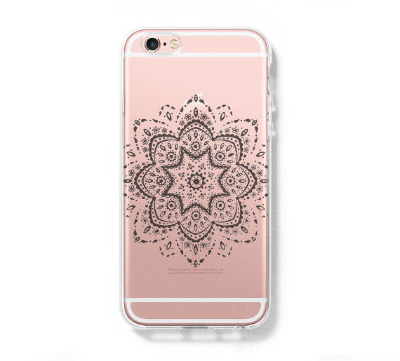 Art Floral Pattern Iphone 6s Clear Case Iphone 6 Cover Iphone 5s 5