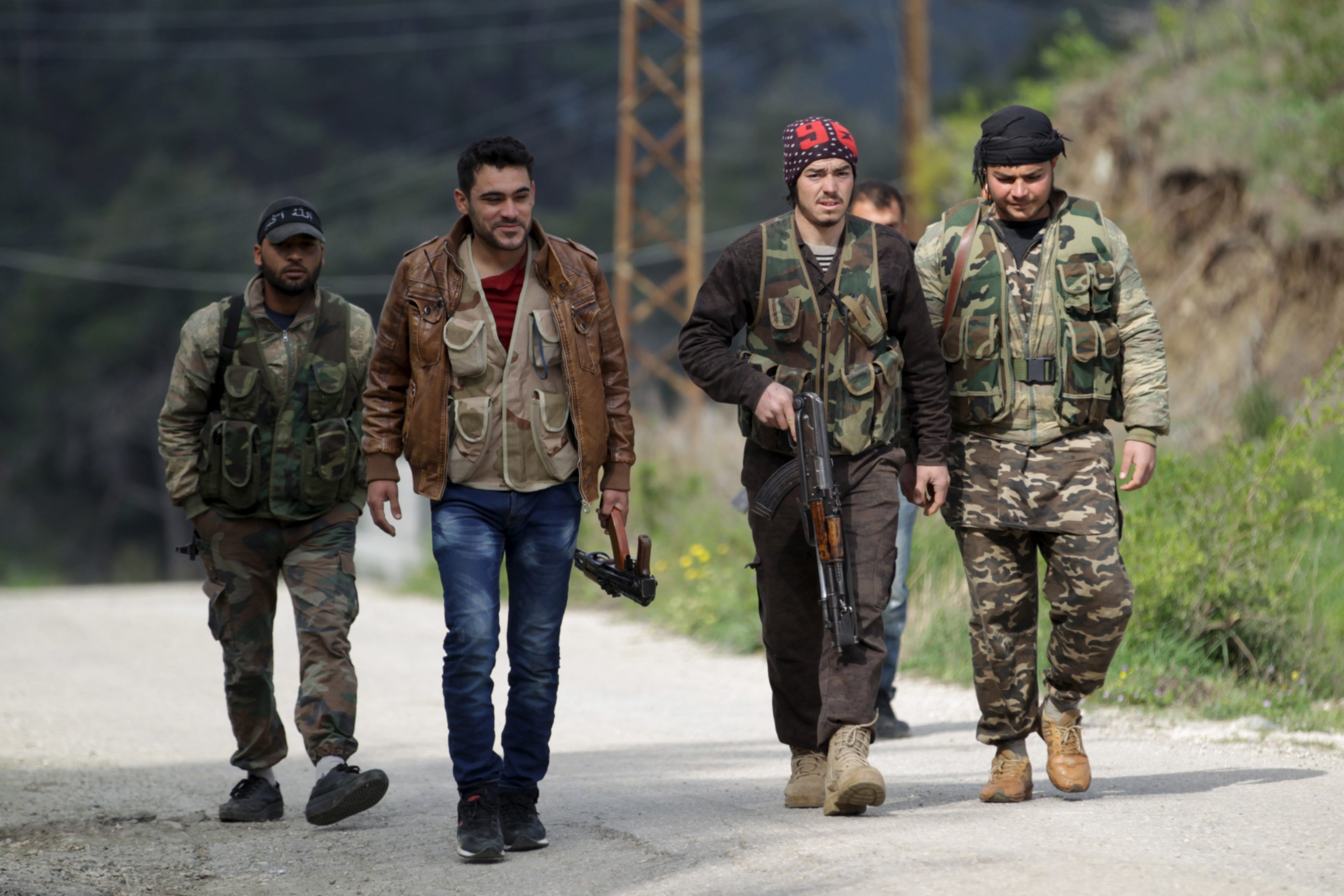 turkmen rebels syria