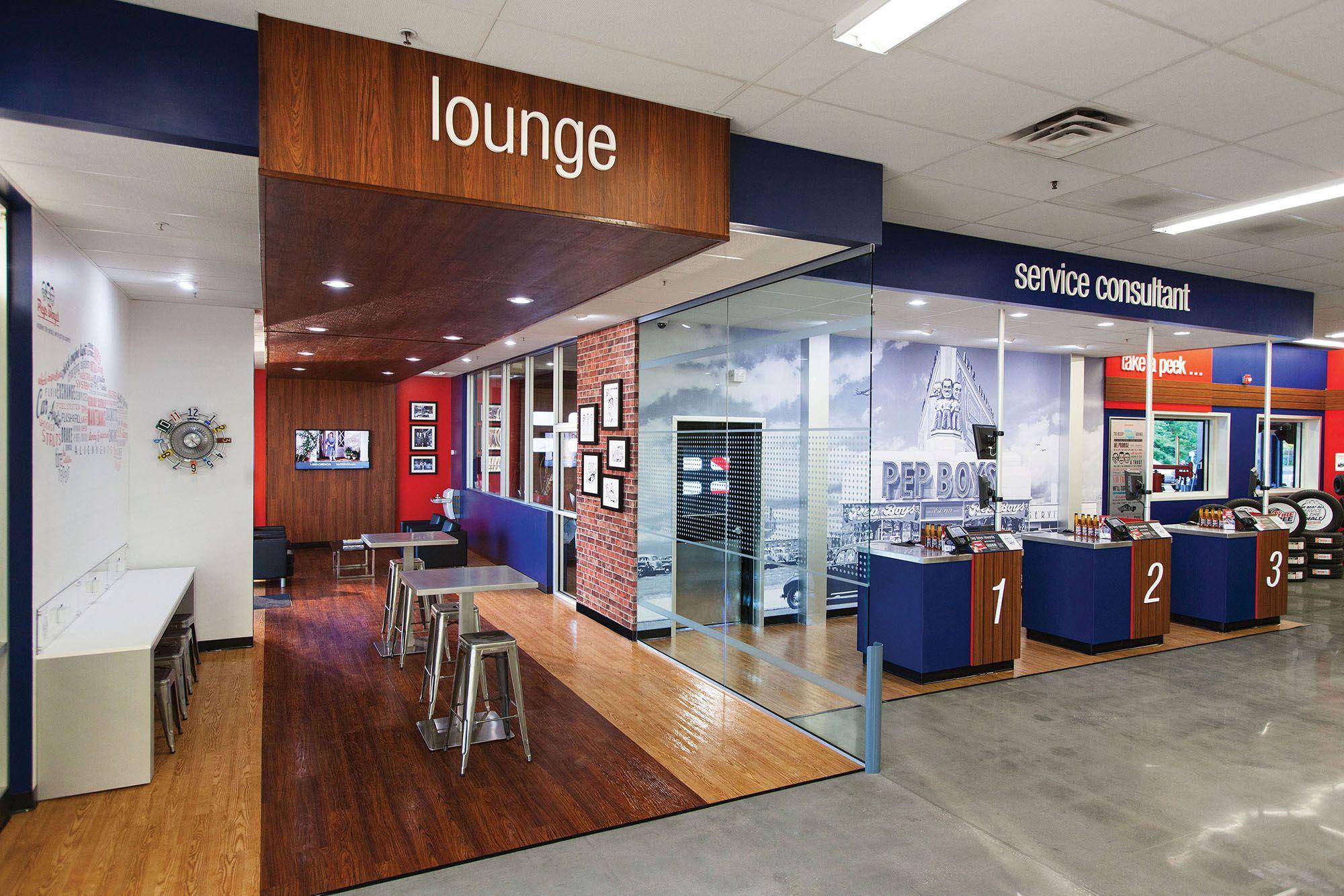 Interior Of New Store Custo Pep Boys Office Photo Glassdoor