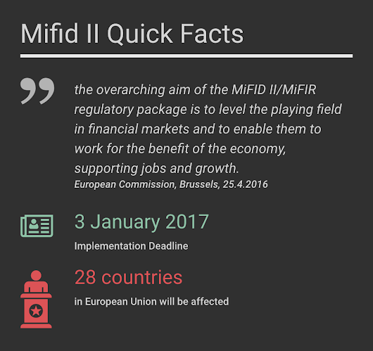 MiFID II: Will you finally know who is on the other side of your trade?