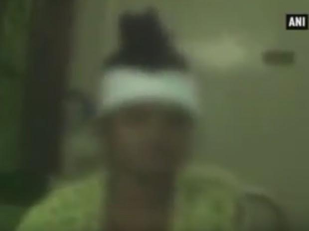 Jovem na Índia pulou do 2º andar de prédio para fugir de estupradores (Foto: Reprodução/YouTube/Sanjeev Bari )
