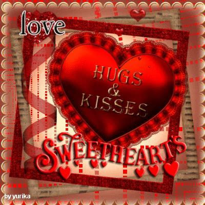 Hugs And Kisses For You Sweetheart. Free Hugs eCards