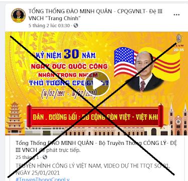 Tổ chức kỷ niệm 30 năm ngày nhậm chức, Đào Minh Quân đang tấu hài cực gắt trên mạng xã hội