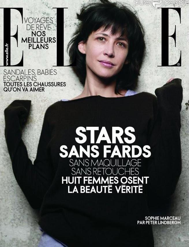 Sophie Marceau - Elle France 2009