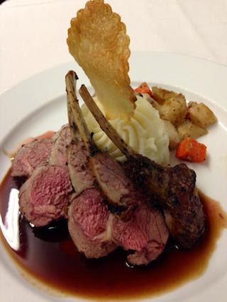 Picture of 'Rosemary-Garlic Roast Rack of Lamb'