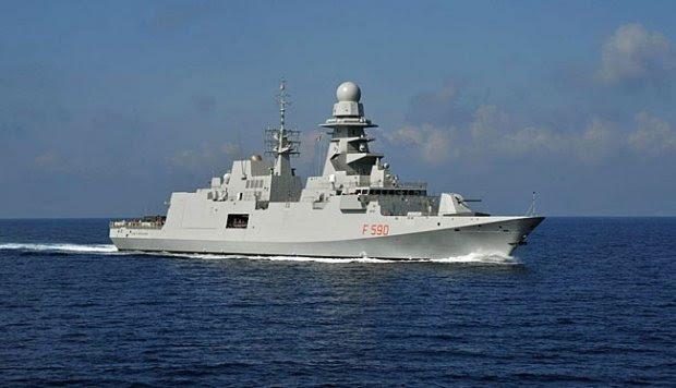 Frigate FREMM, Kapal Perang Canggih Andalan Italia