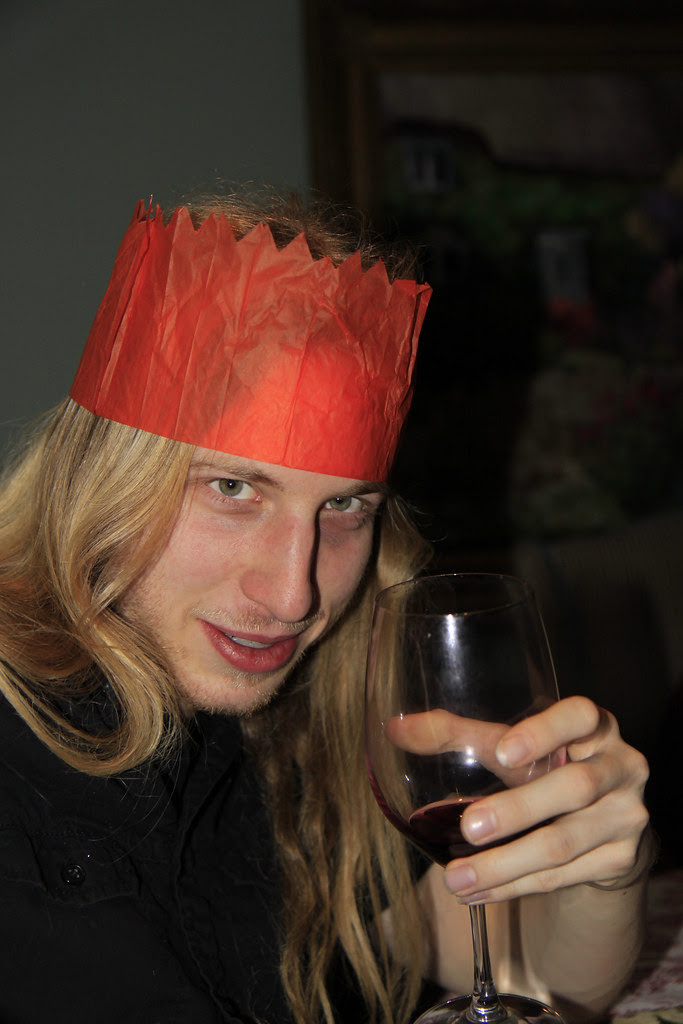 Alex hat wine xmas 2012