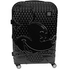 """Ful Textured Mickey Mouse 21"""" Hard Sided Rolling Luggage Black"""