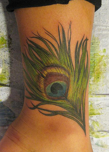 Photo Of Peacock Feather Tattoo Tattoomagz