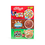 Kellogg's TriFun Cereal Pack, 58oz 58 oz. - 3 Bags