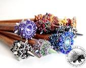 Club Mace Hair Sticks - GQHPatternsandKits