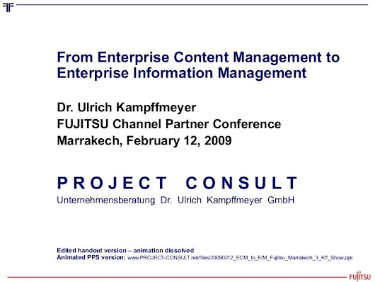 [EN] From ECM Enterprise Content Management to EIM Enterprise Informa…