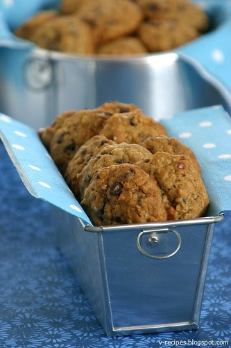 Banana-Chocolate Chips Cookies 3