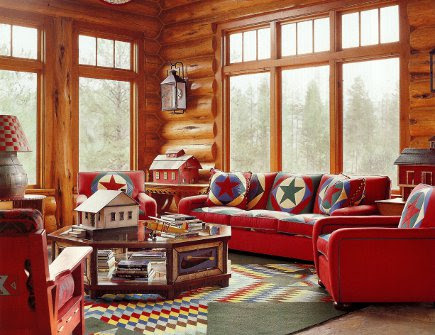 Designer Log Cabin Home | Atticmag | Kitchens, Bathrooms, Interior ...