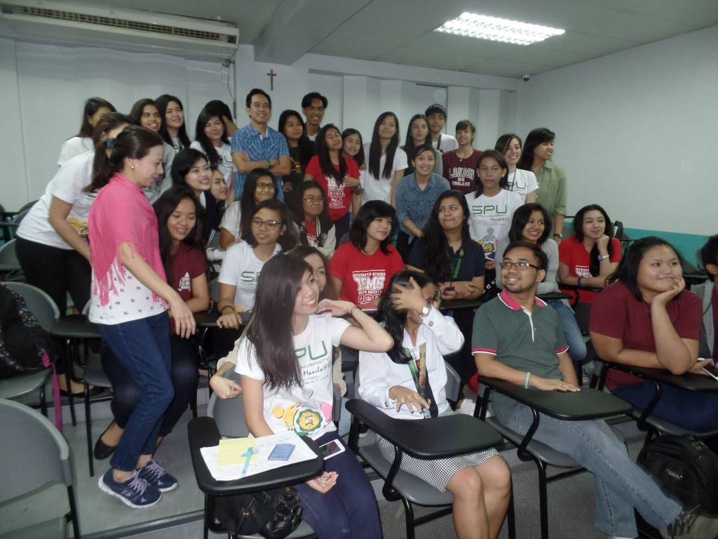 The VoiceMaster with St Paul 3rd Communication Students