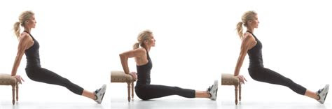 exercise movement glossary bench dip heidi powell