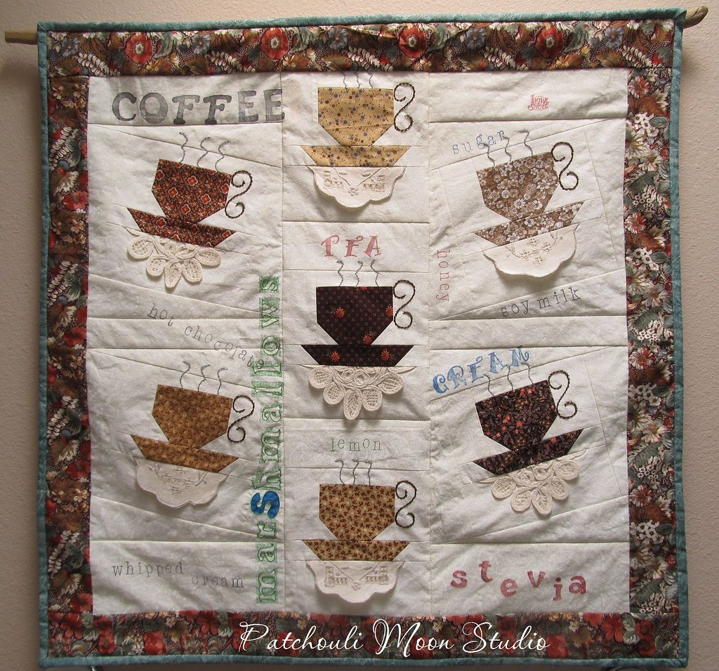 Teacup Or Coffee Quilt