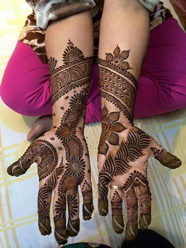 17 Beautiful Punjabi Mehendi Designs 2017   Crazzy Crafts
