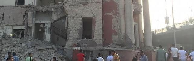 Ultimo Aggiornamento : Esplosione al Cairo che coinvolge Consolato Italiano