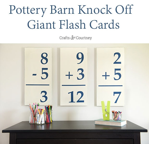 flash card wall art