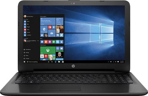 "HP 15.6"" Touchscreen Laptop: A8-7410, 4GB DDR3, 1TB HDD, Win 10 $280 + Free Store Pickup"