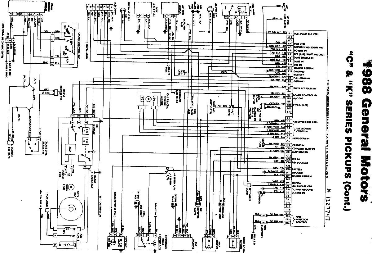 1994 Gmc Truck Wiring Diagram