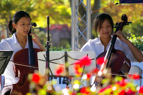 young musicians with Pentax DA 50-200