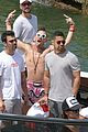 joe jonas wilmer valderrama go boating before summerfest 03