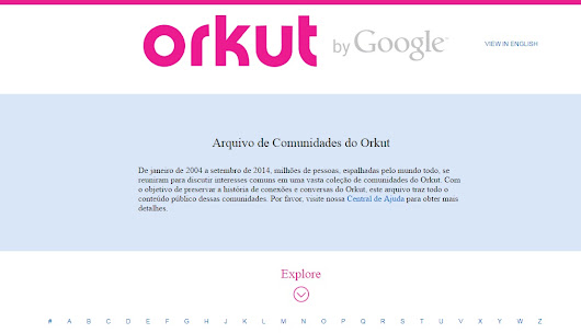 Google enterra de vez o ORKUT