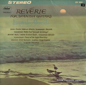ALMEIDA, LAURINDO reverie for spanish guitar