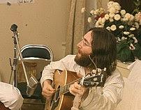 John Rehearses Give Peace A Chance By Roy Kerwood